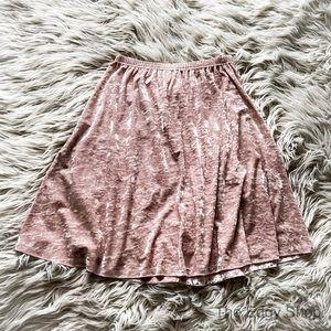 Carolyn Taylor | Crushed Velvet Circle Skirt